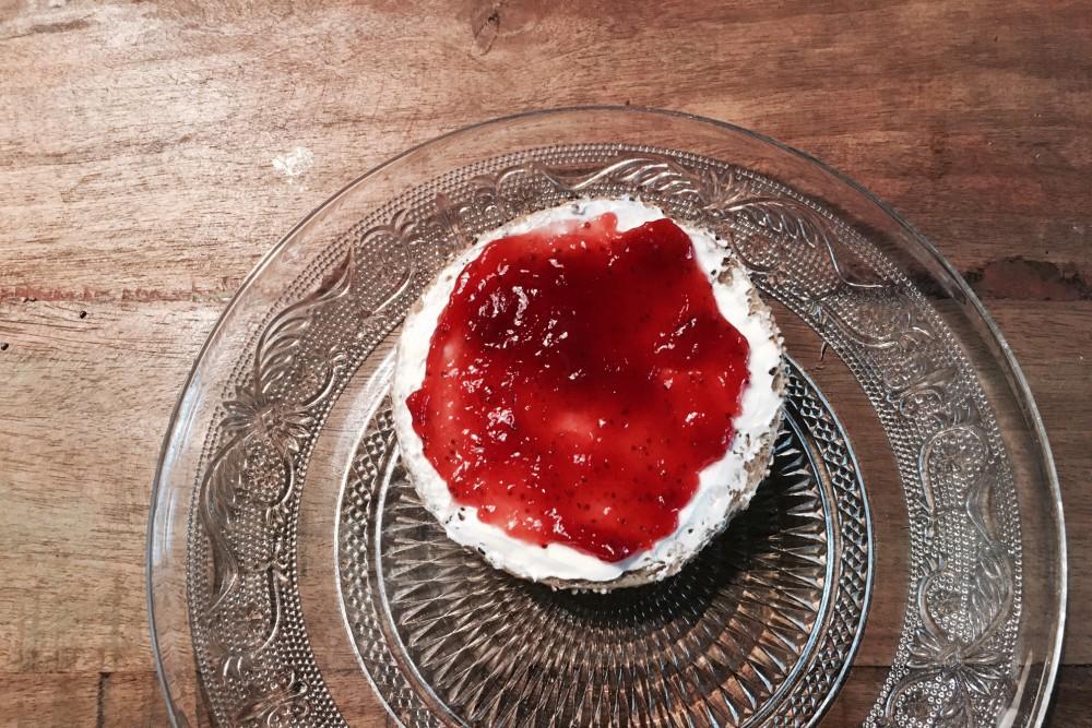 Zuckerfreie Marmelade zum Frühstück