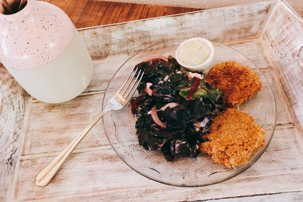 Quinoataler mit Mangold