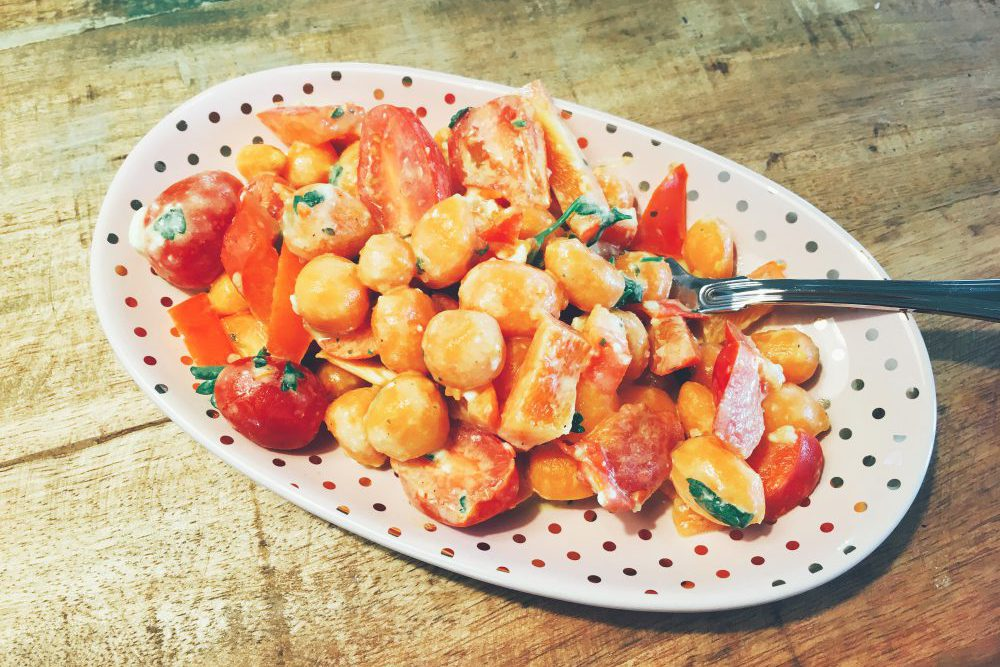 Karotten Gemüse Pfanne