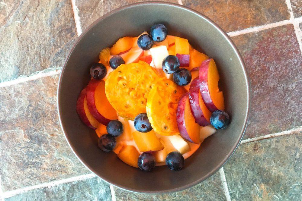 Ungewöhnliche Ideen für Joghurt mit Früchten