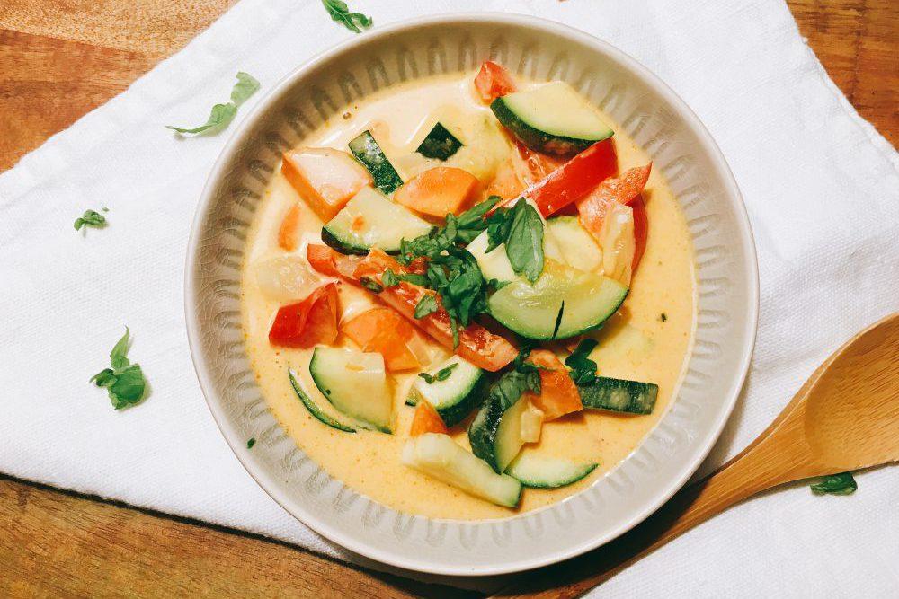 Rotes Thaicurry schnelles Rezept