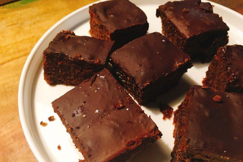 Low Carb Schokoladenbrot Brownies Rezept zuckerfrei