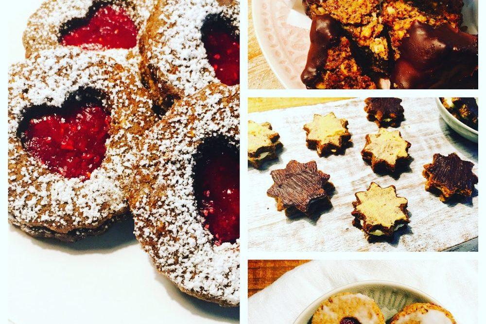 Zuckerfreie Weihnachtsplätzchen Rezepte Hildaplätzchen, Nussecken