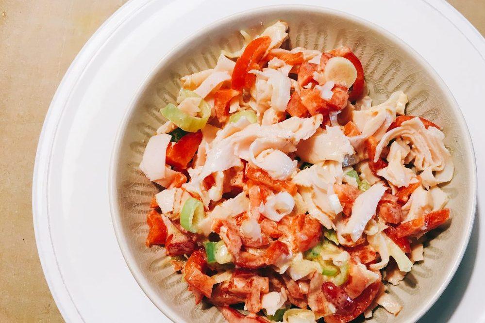 Putenbrust Salat Rezept