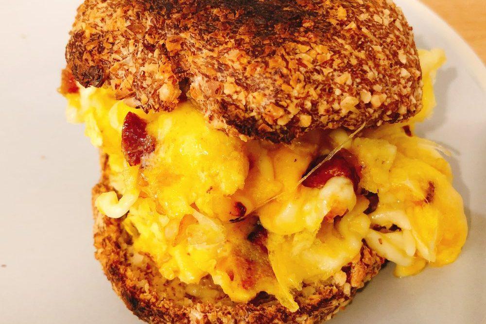 Low Carb Frühstück: Frühstücksburger